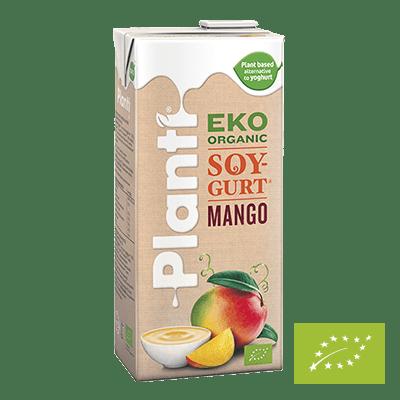 Planti Ekologisk Soygurt Mango