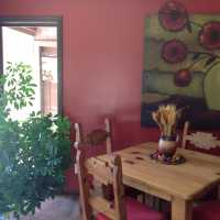 THE dining room table AT SEDONA VIEWS B&B