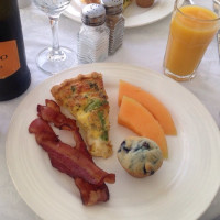 breakfast  -POSH Palm Springs Inn boutique bed & breakfast