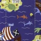 Papel de parede Decoração Infantil Piratas Origini 139-25