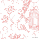 Papel de Parede Toile de Jouy   Origini 224-41 Grand Chateau GC29841