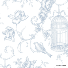 Papel de Parede Toile de Jouy Origini 224-42 Grand Chateau GC29842