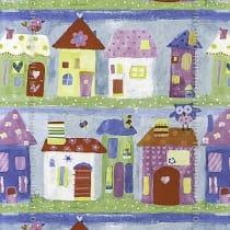 Papel de parede Decoração Infantil Casinhas Origini 139-31