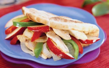 Apple Turkey Gyro
