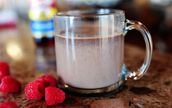 Raspberry Hot Chocolate