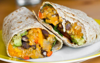Mexican Vegetarian Wrap