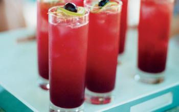 Cherry Gin Punch