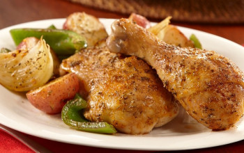 Maple Chicken with Potatoes