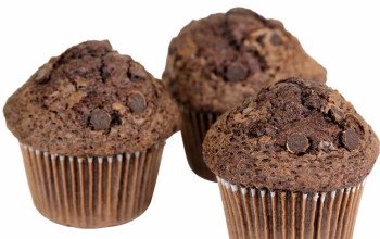 Pesach Double Chocolate Muffins