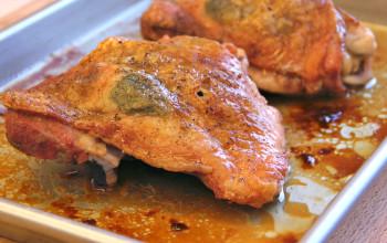Turkey Thighs with Orange Sauce
