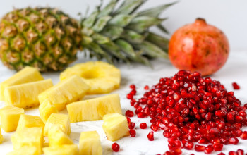 Pomegranate Pineapple Delight