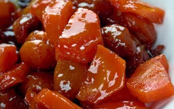 Apricot and Sweet Potato Tzimmes