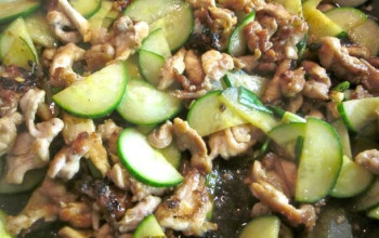 Garlic Cucumber Chicken