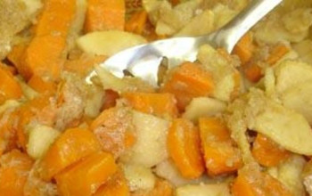 Savory Carrot and Apple Casserole