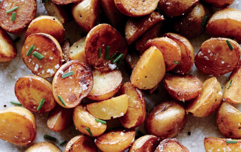 Potatoes with Vinegar and Sea Salt