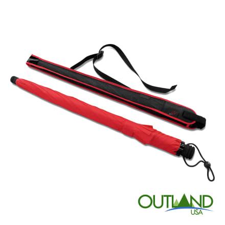 Euroschirm Swing Liteflex Trekking Umbrella Red