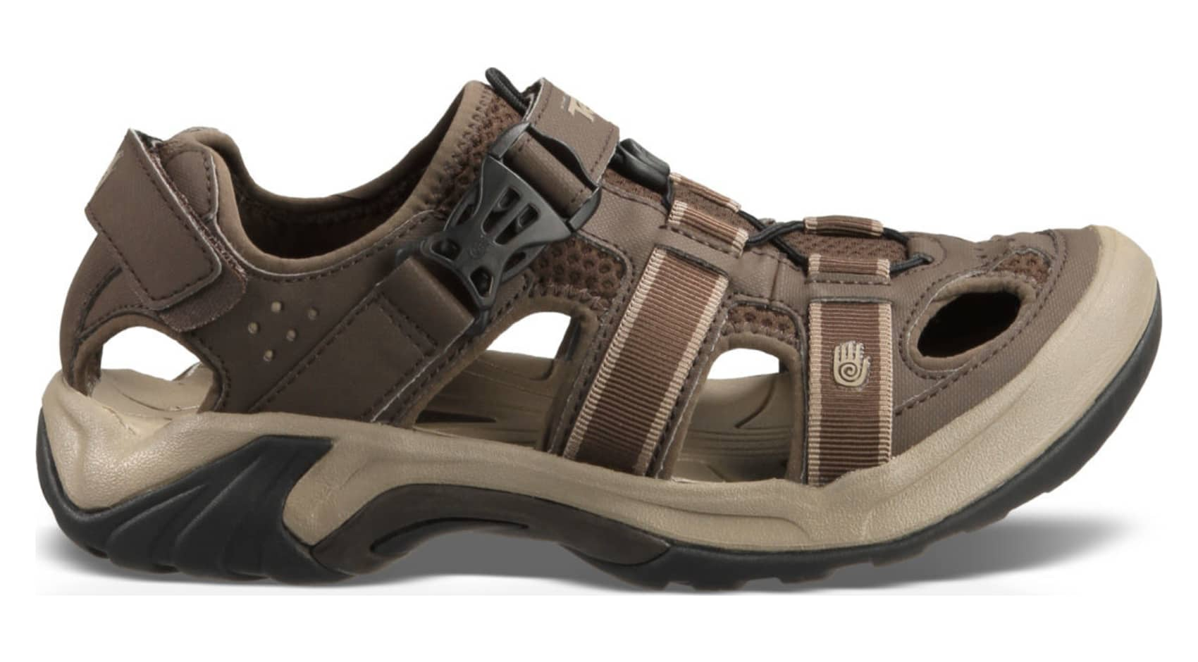 Fantastic Teva Sandals Women39s Bungee Cord 1000271 BNGC Brown Closed Toe Ewaso