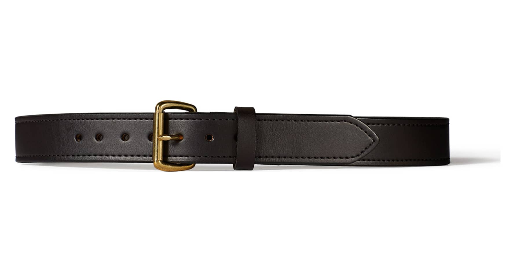 filson 63215 1 1 2 quot leather belt brown 46