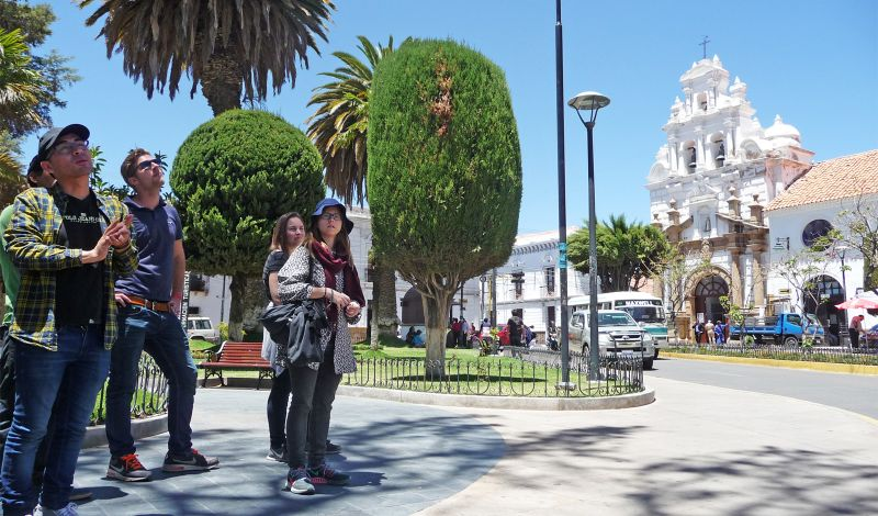 Condor Trekkers: Sucre Walking Tour: Immerse Yourself in This Colonial City
