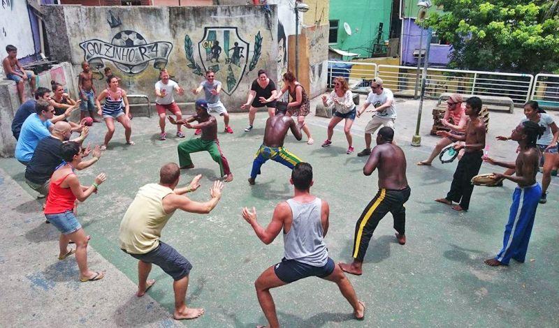 Favela Phoenix: Rio de Janeiro Community Tour: Urban Culture, Art, & Capoeira
