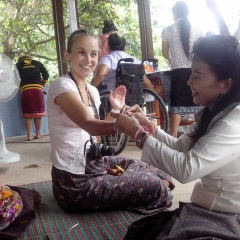 Laos women with disabilities