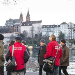 Basel city tour - helping homeless
