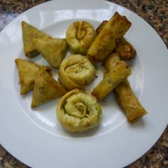 Moroccan pastries