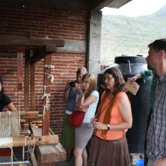 Visit Oaxaca - rug weaving