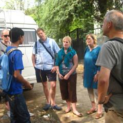 New Delhi walking tour guide