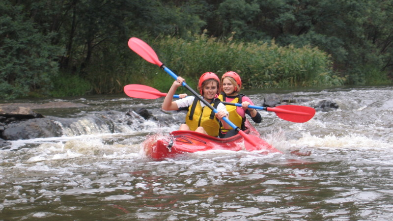 Kayak The Yarra River On Rapids Half Day Adult