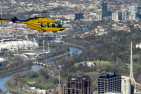 Helicopter Flight Over Melbourne
