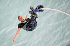 Bungy Jump Off The Auckland Harbour Bridge