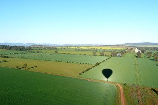 Hot Air Balloon Flight and Vineyard Breakfast