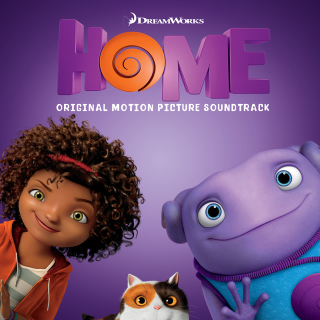 "Rihanna - As Real As You And Me - From The ""Home"" Soundtrack album artwork"