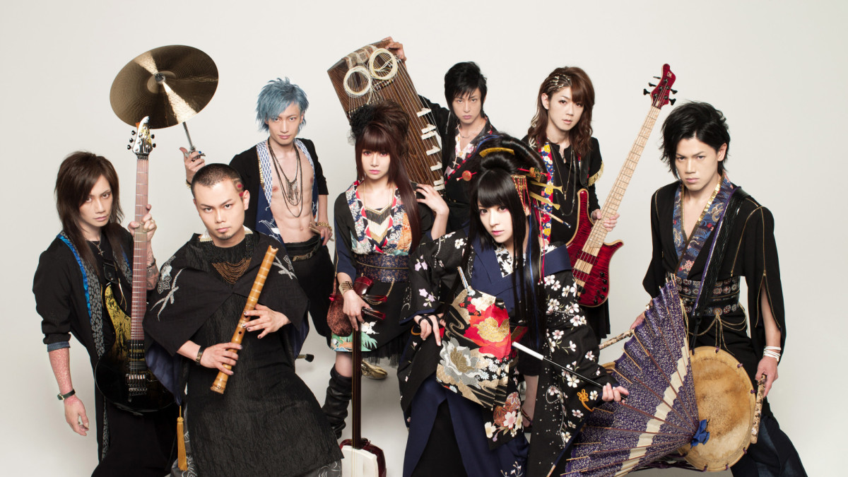 """A Plea For Traditional And >> Wagakki Band brings their Japanese rock fusion to """"REVOLT Sessions"""" 