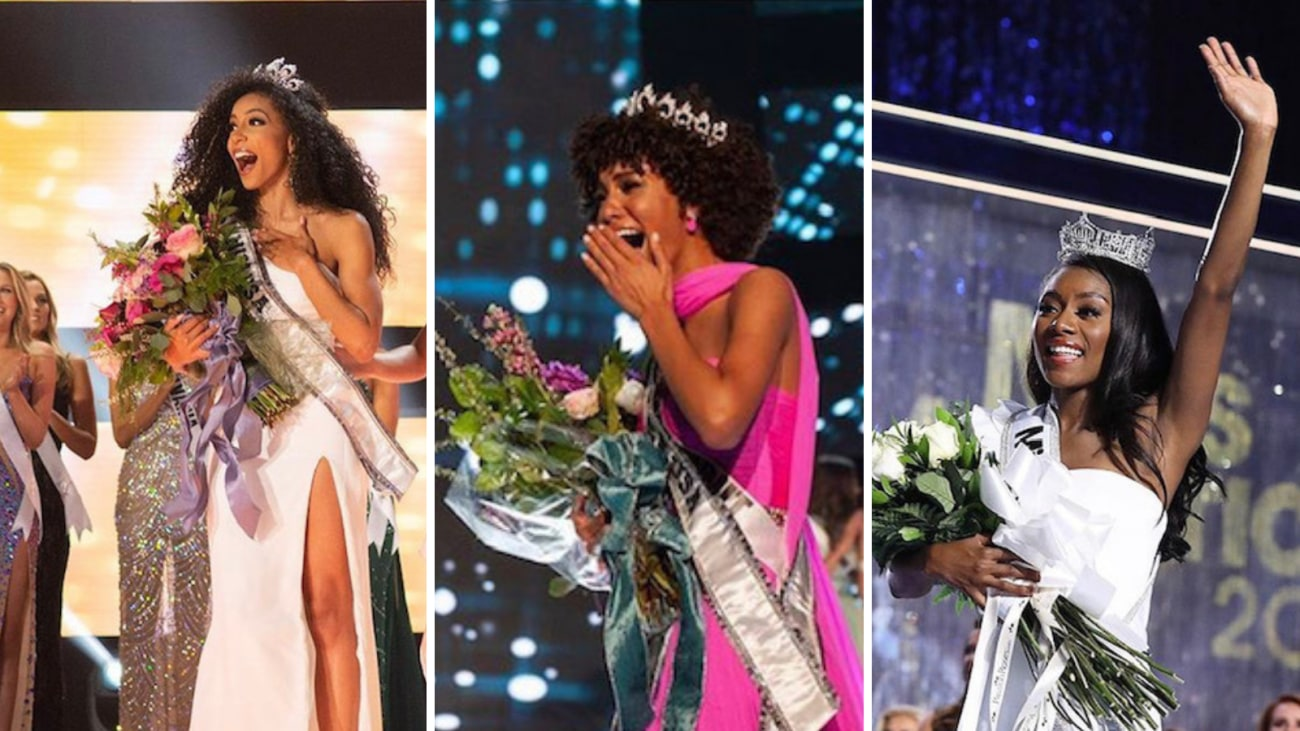 Miss USA, Miss Teen USA, Miss America are all black women ...