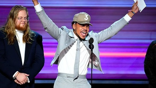 Chance the rapper makes history at the 2017 grammys twitter reacts chance the rapper makes history at the 2017 grammys twitter reacts revolt unapologetically hip hop malvernweather Image collections