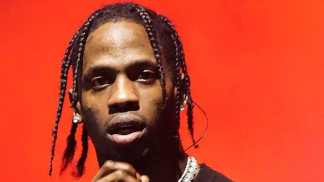 e1fb30f305a4 Travis Scott performs on 'Saturday Night Live' with special guests | REVOLT  - UNAPOLOGETICALLY HIP HOP