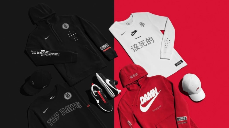 8d8bdfa77bc99 Top Dawg Entertainment and Nike release capsule collection