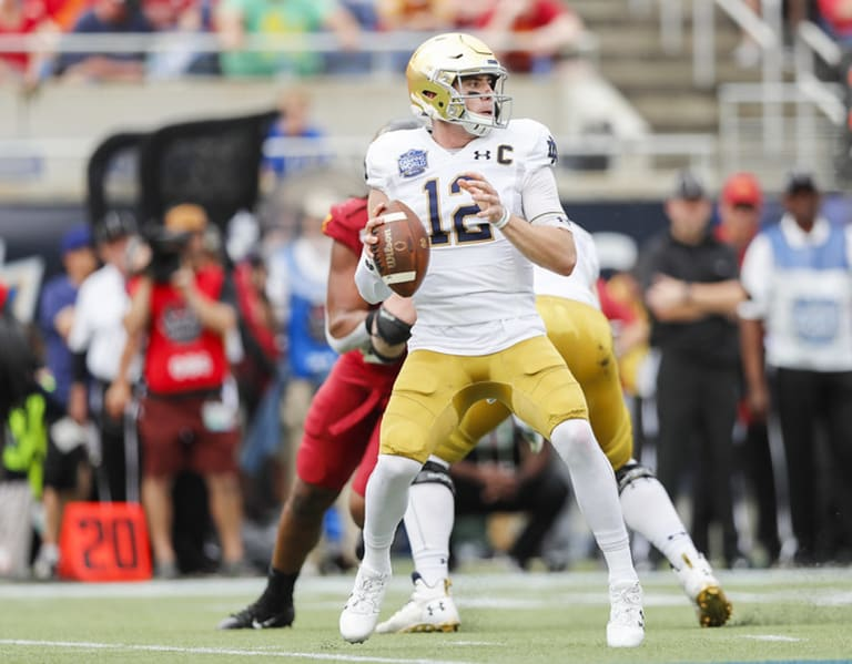 For The Record Among Notre Dame Fighting Irish Quarterbacks
