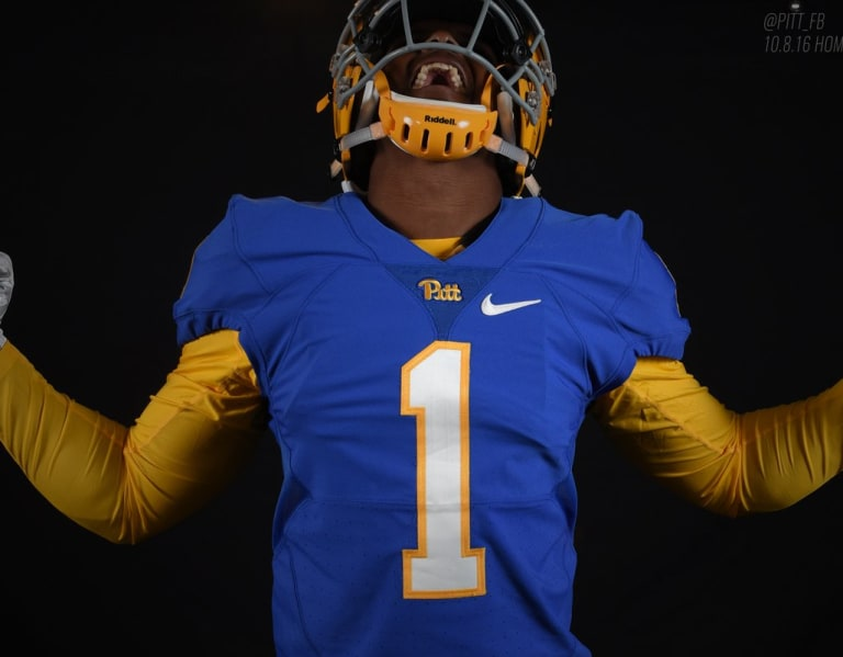 release date 11fd3 3eb0b Panther-lair - Recruits react to Pitt's throwback uniform reveal