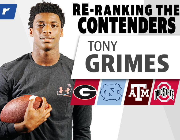 Photo of Re-Ranking the Contenders: Five-star Tony Grimes