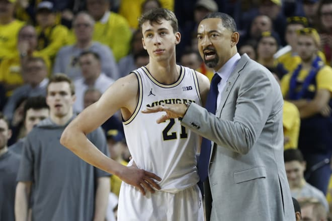 Michigan Wolverines basketball wing Franz Wagner had one of his better games of the year against Indiana.