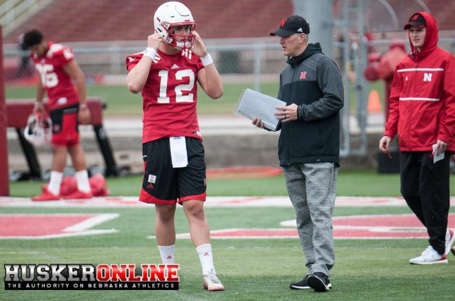 QB Patrick O'Brien and OC Danny Langsdorf
