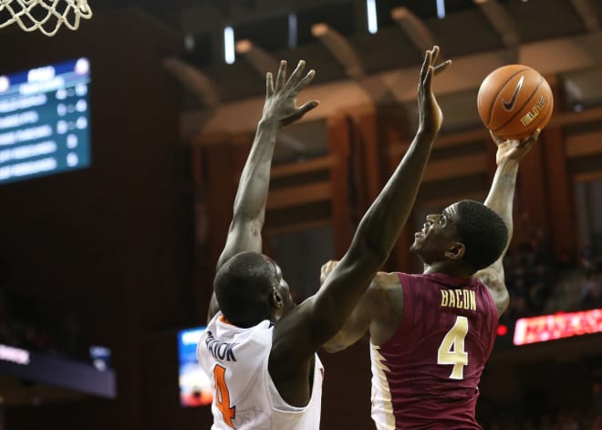 Dwayne Bacon led FSU with 29 points in a rare win at Virginia on Saturday.