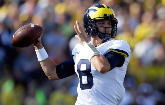 Former Michigan quarterback John O'Korn is hoping for a shot in the NFL.