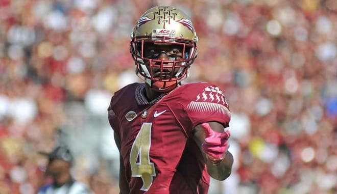 Sophomore cornerback Tarvarus McFadden has given up some big plays, but he leads FSU with five interceptions.