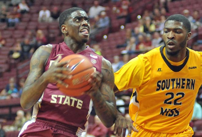 Sophomore forward Dwayne Bacon scored 11 first-half points in 12 minutes in Florida State's win over Southern Mississippi on Tuesday.