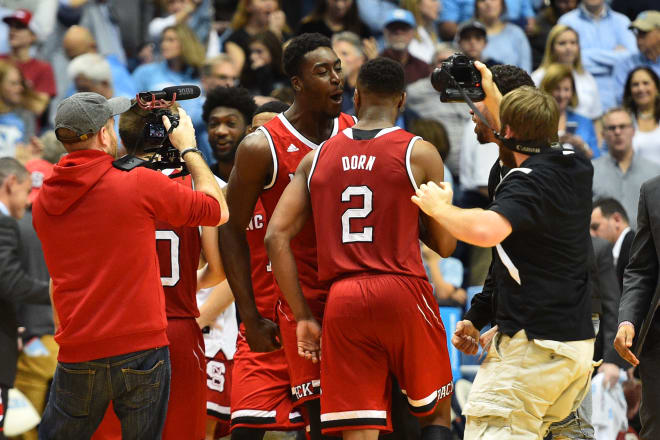 NC State picked up a huge 95-91 overtime victory at North Carolina on Saturday.
