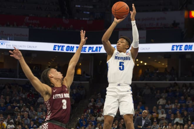 Memphis freshman guard Boogie Ellis, a former Duke signee, is averaging 8.0 points and 1.5 assists per game.